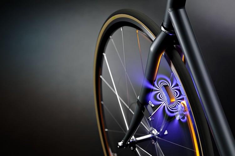 arara wheel mounted bike light