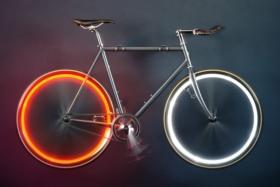 new free wheel mounted bike