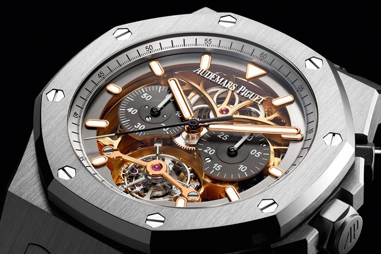 audemars piguet royal oak chronograph material good