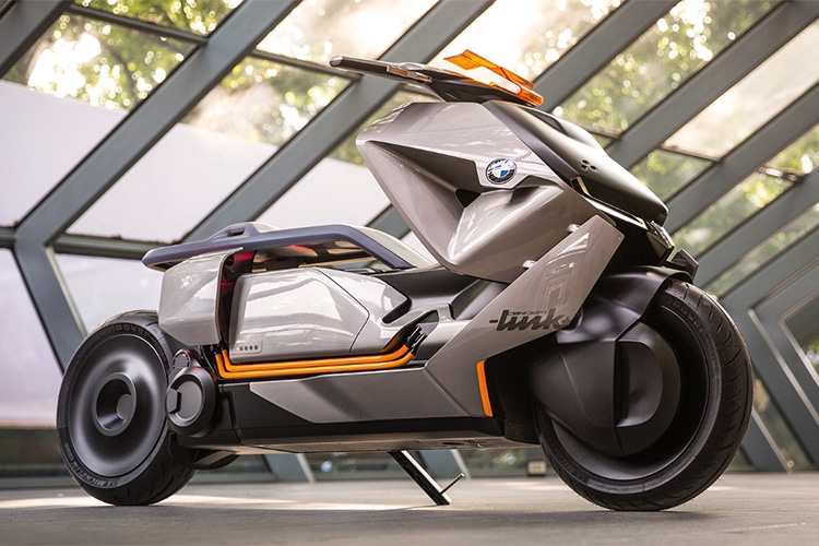 bmw motorrad concept link motorcycle launched