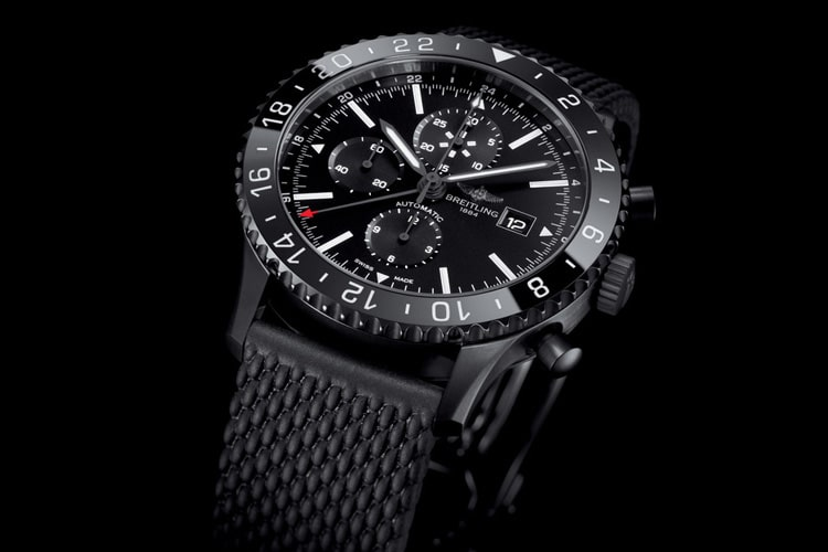 breitling all black navitimer 1884