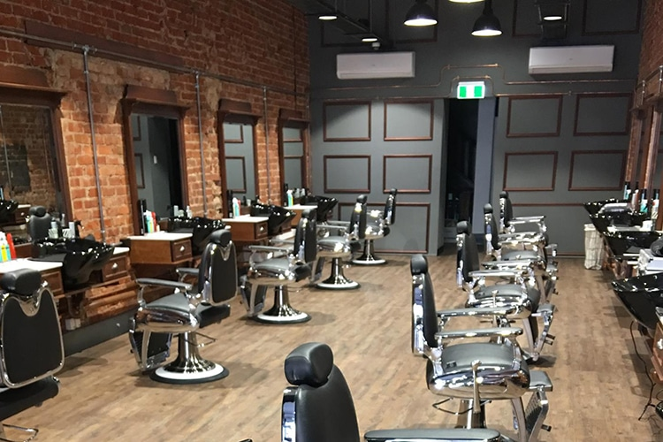 babylon barber hair salon inside