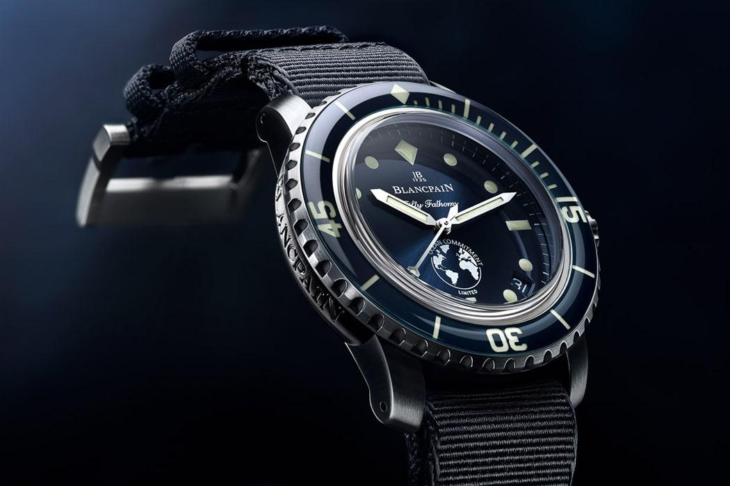 blancpain ocean commitment iii watch
