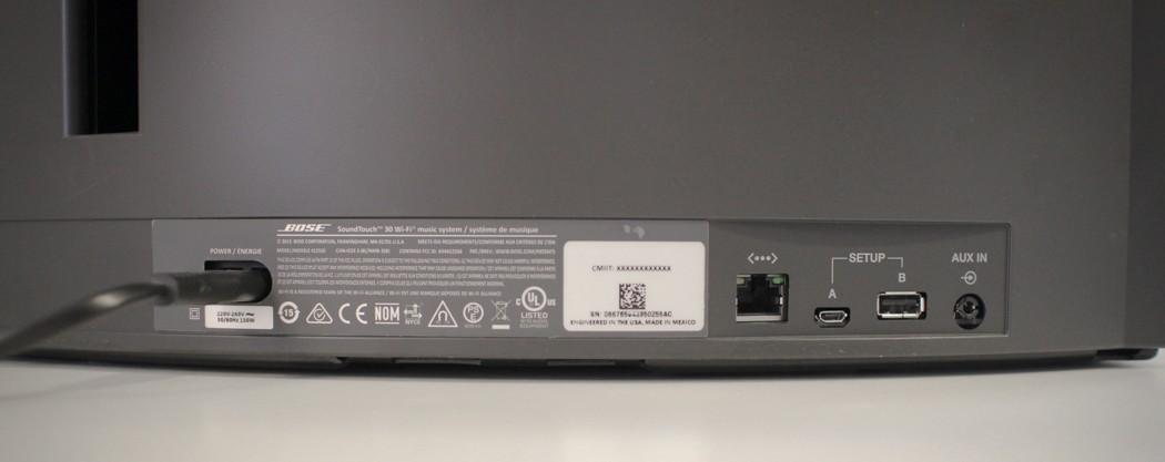bose soundtouch 30 series ii speaker usb port