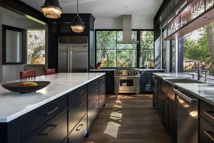chickadee home kitchen area