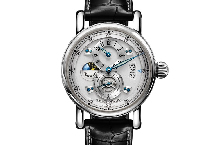 chronoswiss flying regulator night and day watch