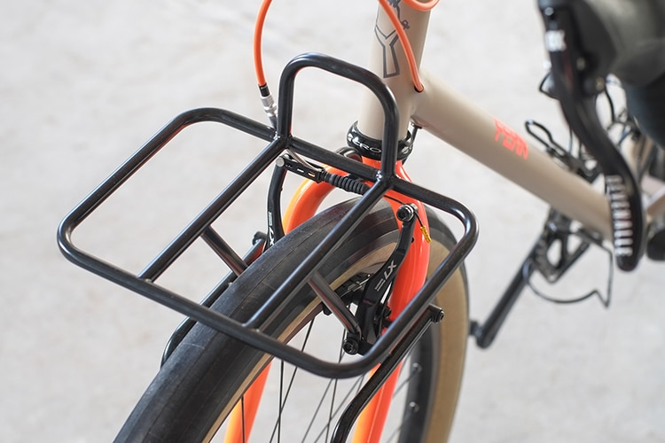 chuck bike front side