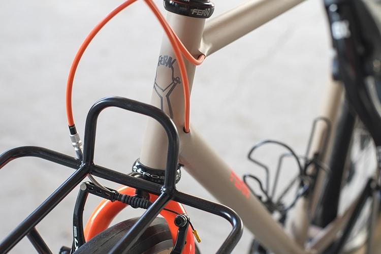 chuck bike logo and break system