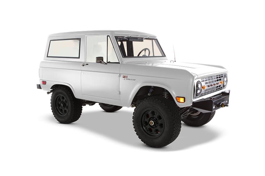 bronco custom vehicle side