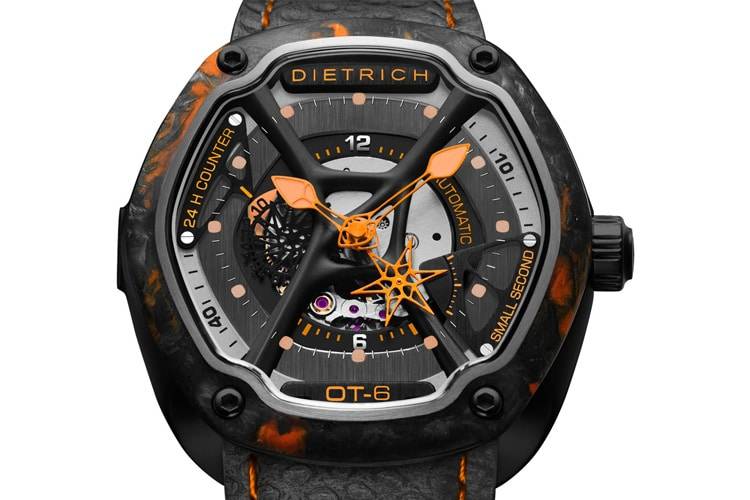 dietrich o time forged carbon watch