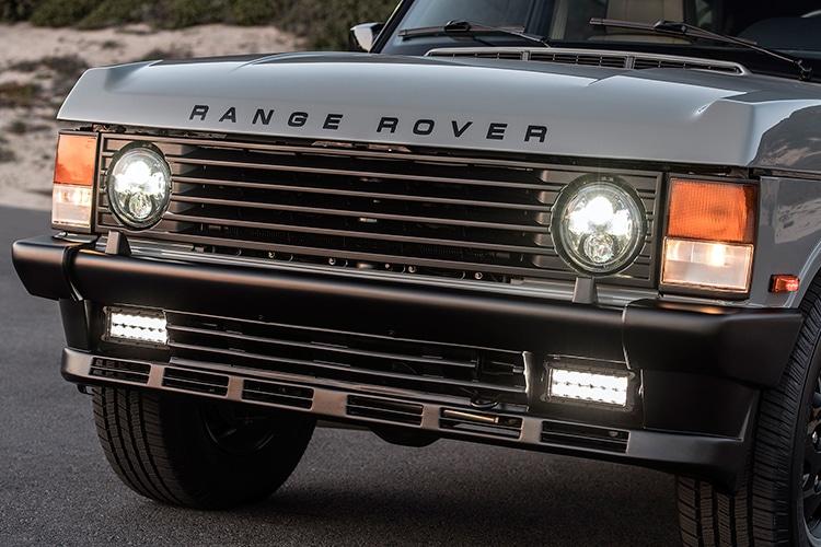 ecd range rover car front side