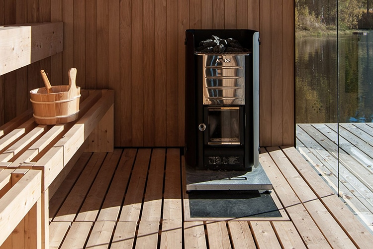 floating sauna steamboat steam machine and bench