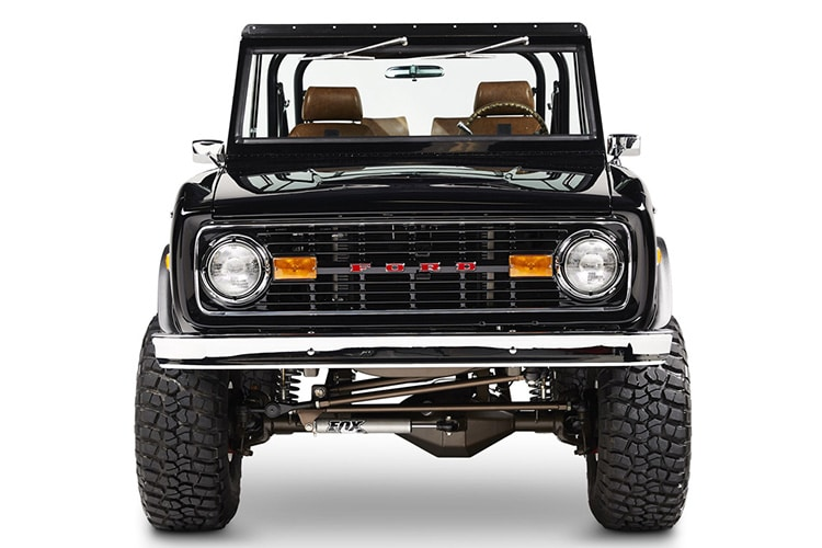 ford bronco aspen jeep front side