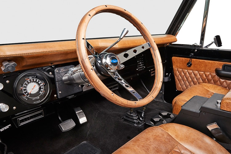 steering ford bronco aspen jeep