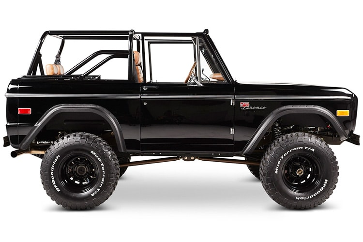 ford bronco aspen jeep side view