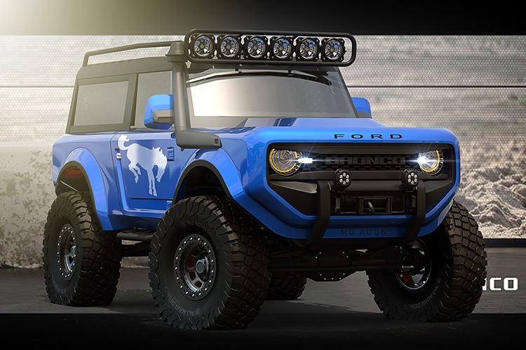 The Ford Bronco 2020 Concept Suv Heralds The Return Of The