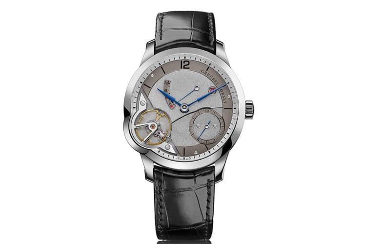 greubel forsey balancier watch