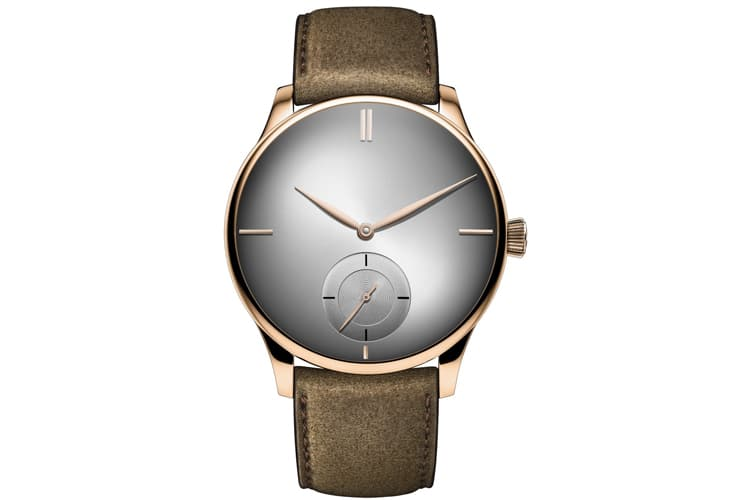 h moser & cie venturer small seconds xl purity