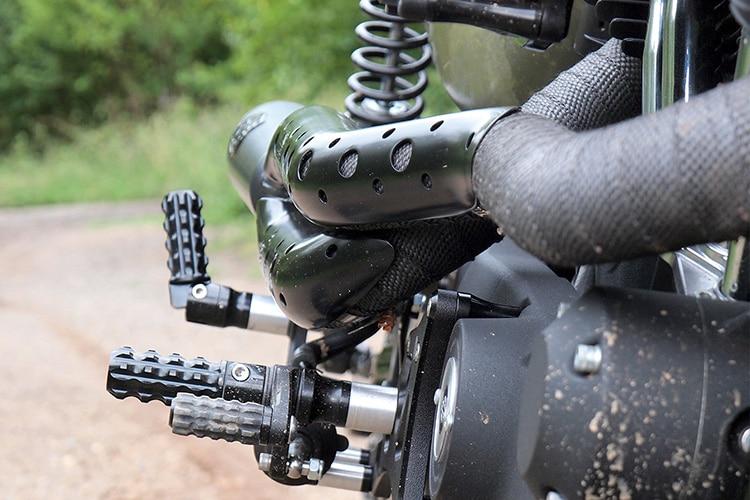 harley davidson a15 scrambler motorcycle silencer