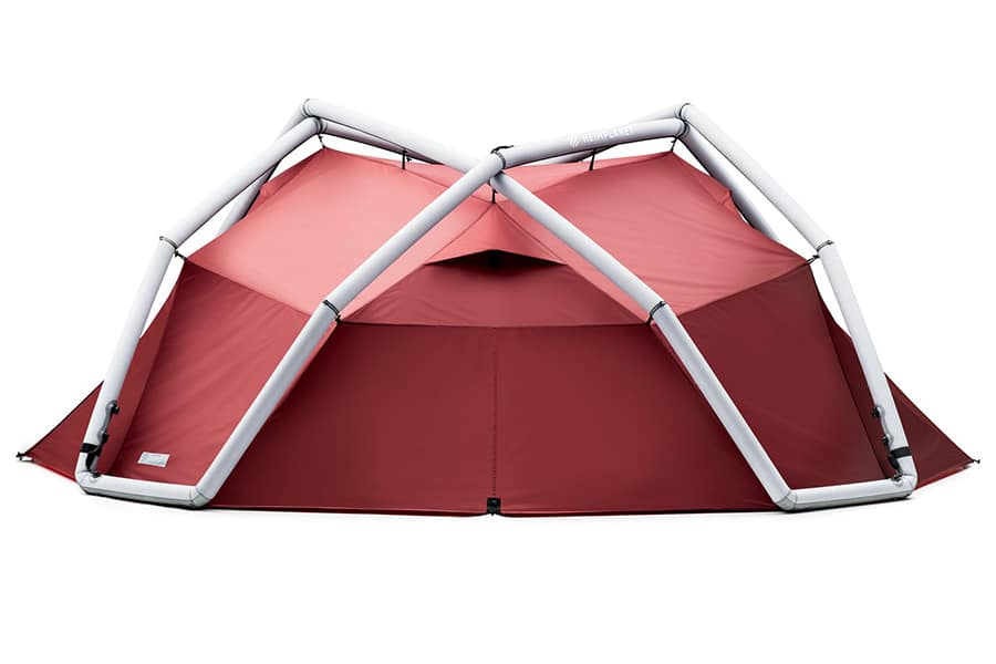 Heimplanet Backdoor Tent Drives a Stake through Other Tents