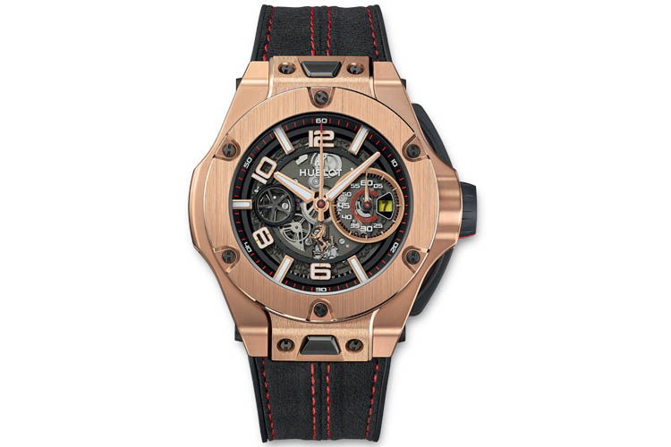 hublot big bang ferrari unico magic gold