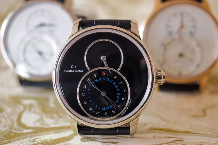 jaquet droz grande second dual time