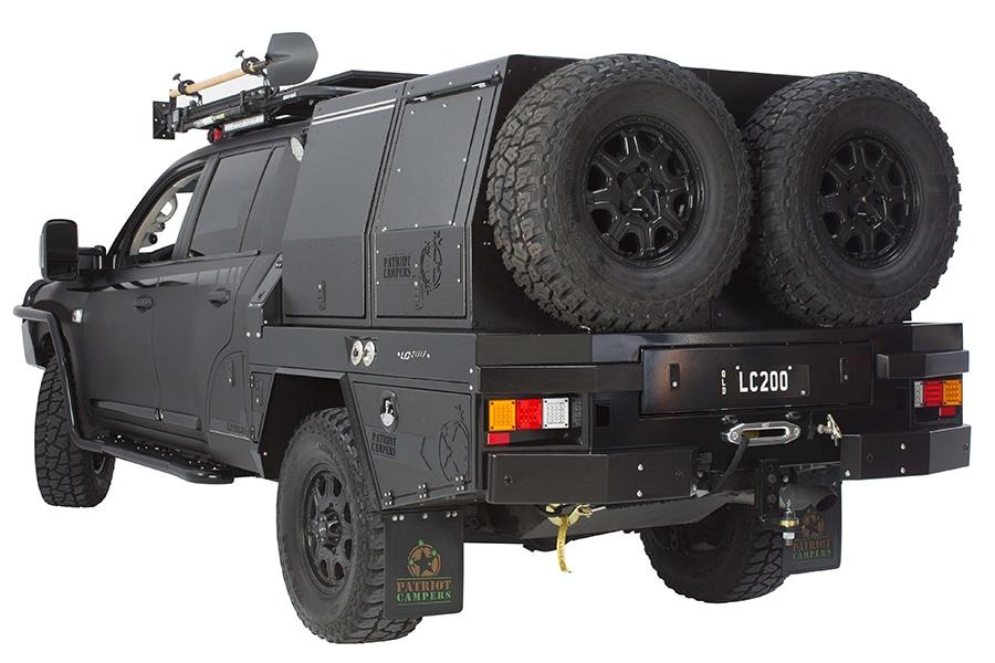 back view supertourer vehicle