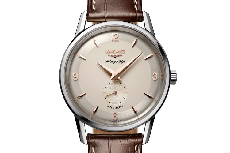 longines flagship heritage watch