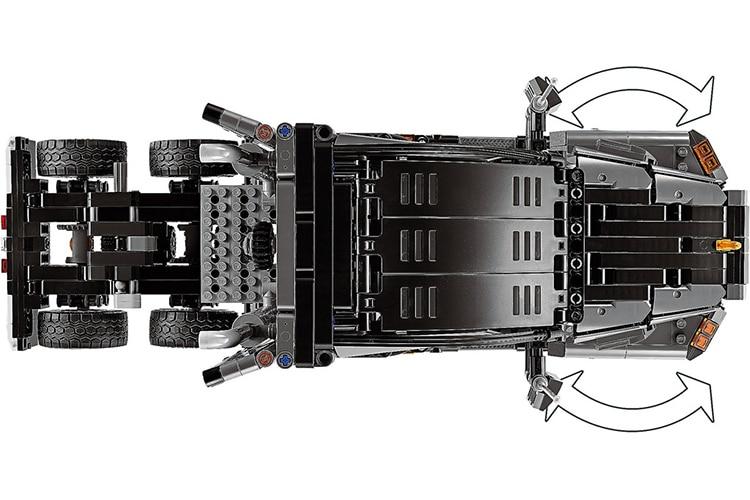 lego technic mack truck top