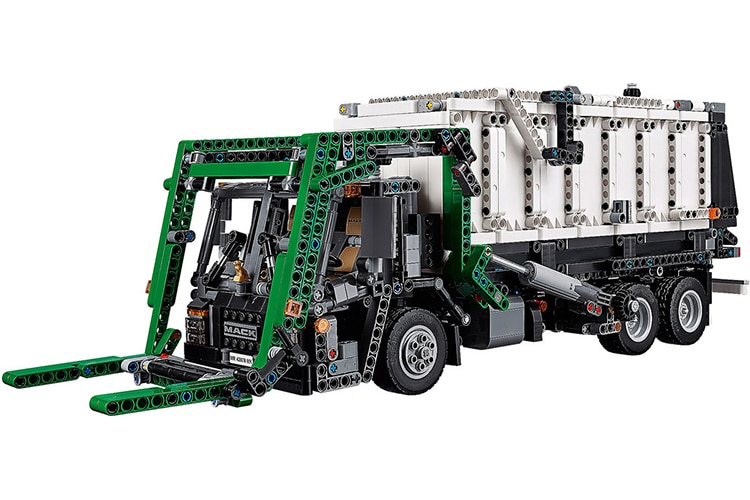 lego technic mack truck side
