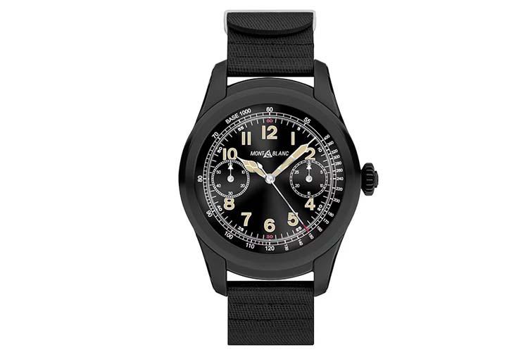 the wind up montblanc summit smartwatch