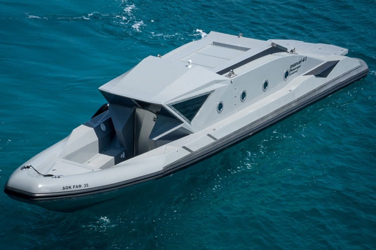 new marvel 41c armored boat