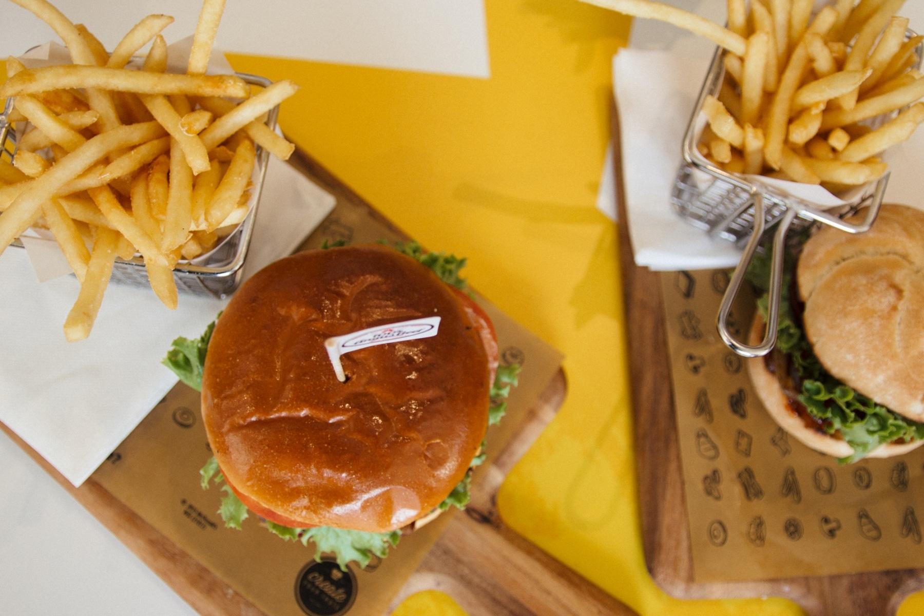 verdict design own burger