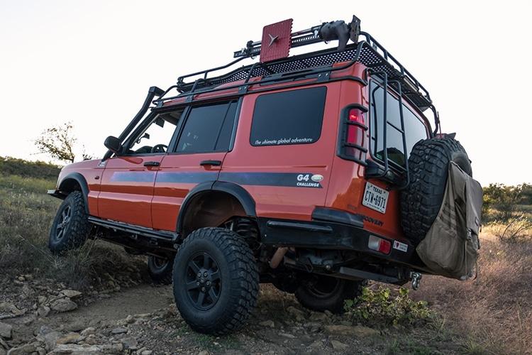 2007 land rover g4 car tire