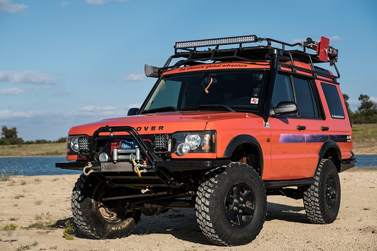 This Modified 2004 Land Rover Discovery Was Inspired By The G4 Challenge Man Of Many