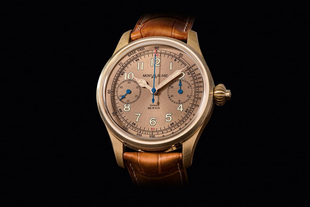montblanc chronograph tachymeter limited edition
