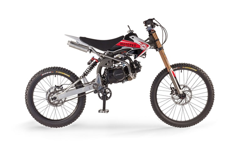 motoped pro motorcycle released