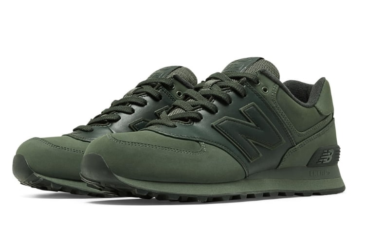 The New Balance 574 S Goes All Green Man Of Many
