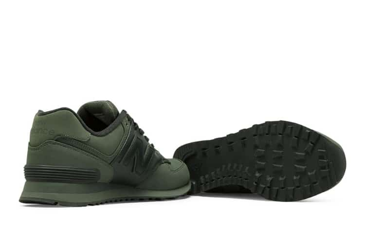 new balance 574 shoe military green