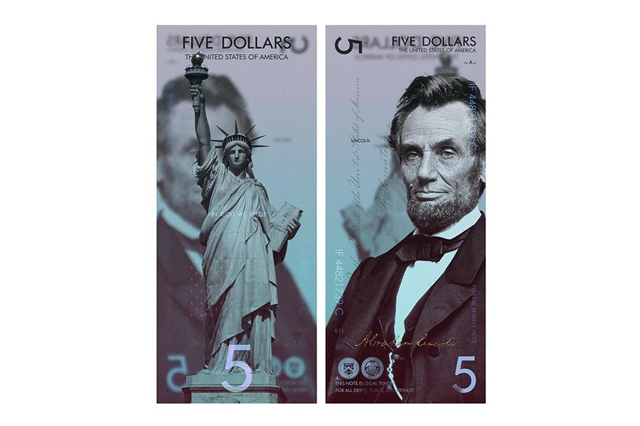new us dollar concept