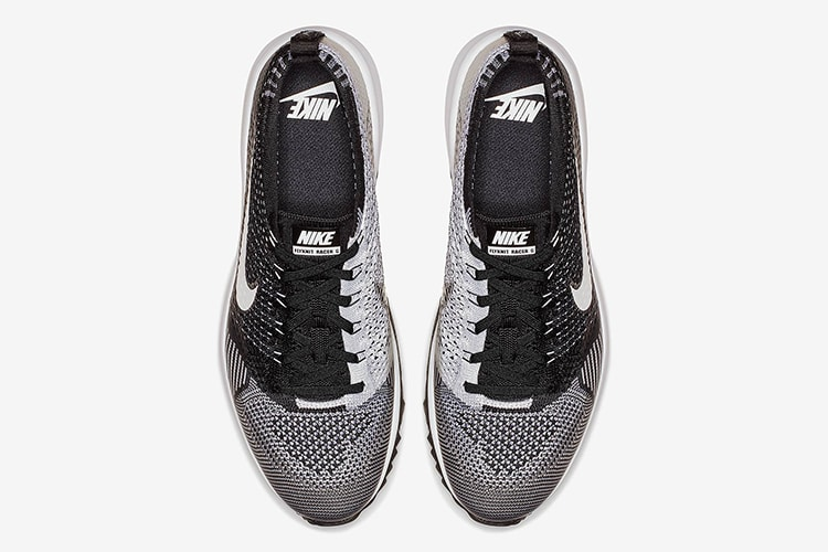 front view nike flyknit