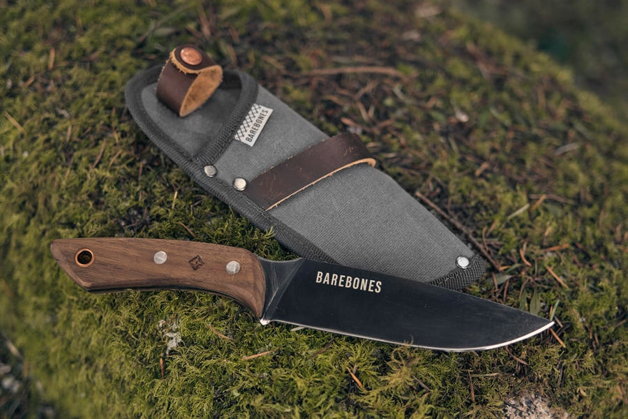 field pocket knife with tool