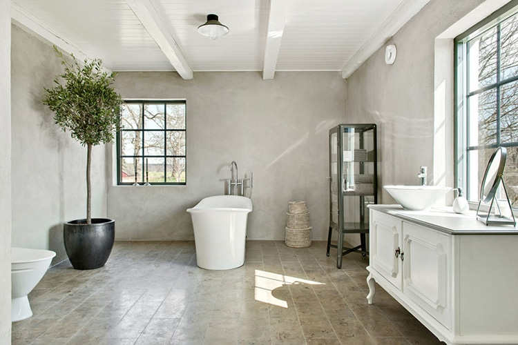 sweden barn house washroom