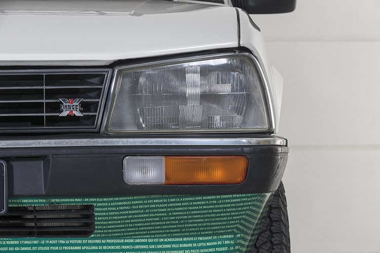 peugeot dangel front lights