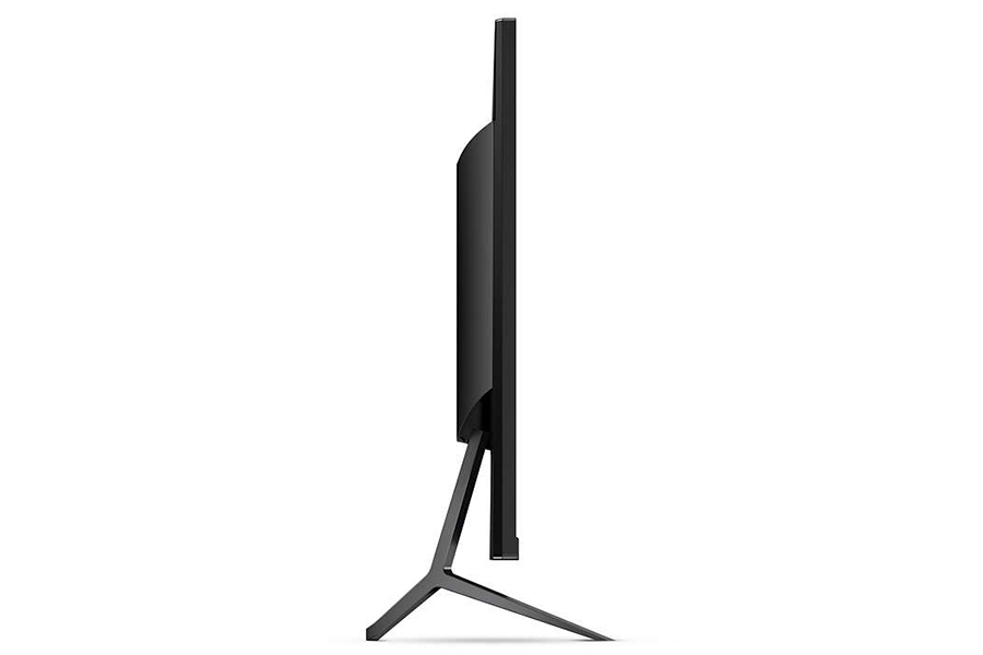 philips momentum 4k monitor side view