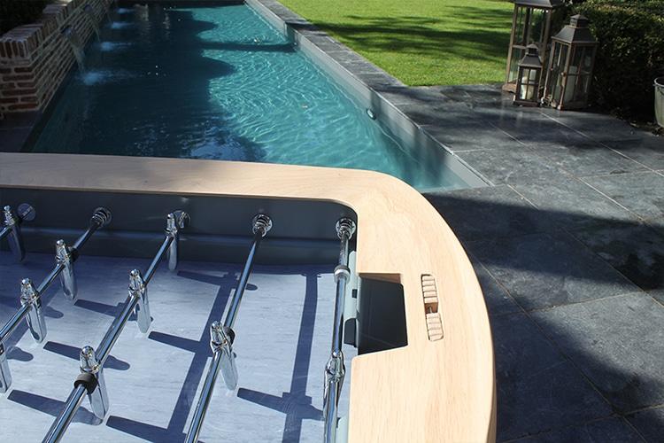 pure outdoor foosball table top