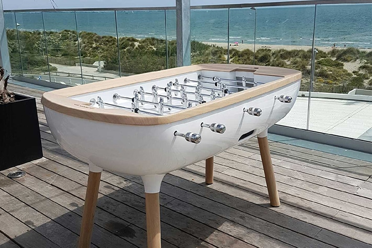 pure outdoor foosball table