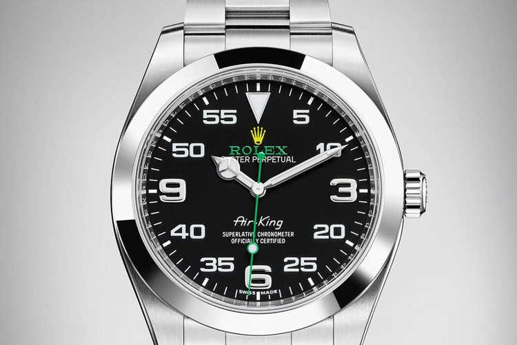 rolex air king watch
