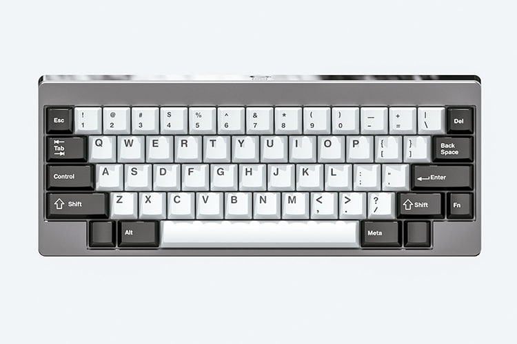 rama works m60 a mechanical keyboard front