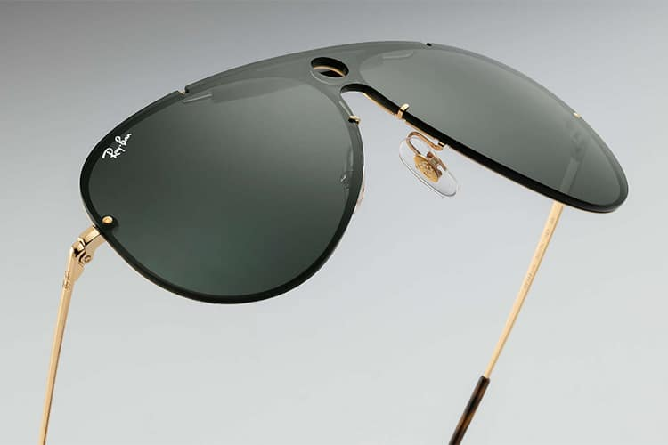 ray ban blaze shooters nose pad